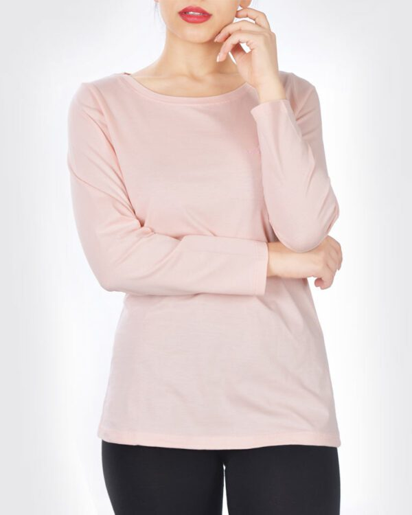 تیشرت آستین بلند نهال کژوال زنانه