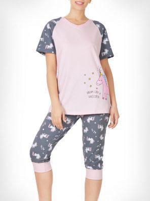 تیشرت و شلوار برمودا یونیکورن رویایی زنانه