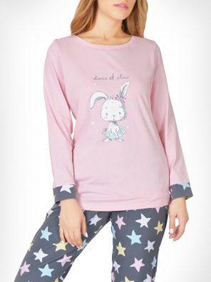 تیشرت و شلوار خرگوش و ستاره ها زنانه
