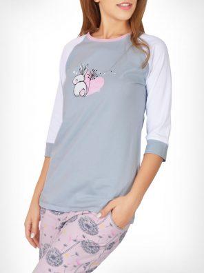 تیشرت و شلوار خرگوش و قاصدک زنانه